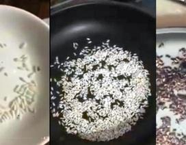 """Kiểm tra, làm rõ thông tin """"gạo nhựa tại TP Hồ Chí Minh"""""""