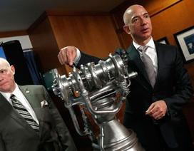 """Tỷ phú Amazon """"đặt gạch"""" cho giấc mơ khám phá vũ trụ"""