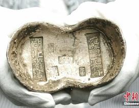 Đấu giá nén bạc cổ nặng gần 2kg