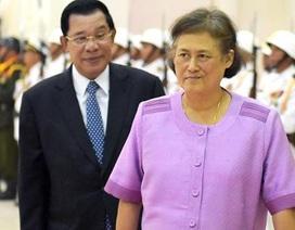 Xây nhà vệ sinh gần 900 triệu đồng cho công chúa Thái Lan sang Cam-pu-chia