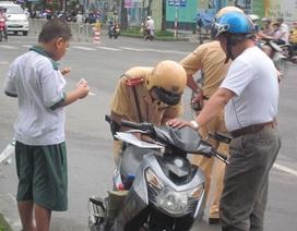 Một cảnh sát giao thông 3 năm 132 lần không nhận hối lộ
