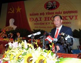 Chủ tịch tỉnh Hải Dương được bầu làm Bí thư Tỉnh ủy
