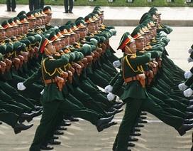 Quy định mới về phong, thăng, giáng cấp bậc quân hàm trong quân đội