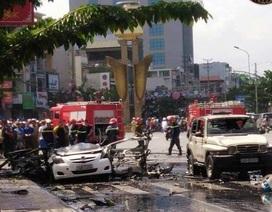 Vị khách trong vụ nổ taxi để lại thư tuyệt mệnh