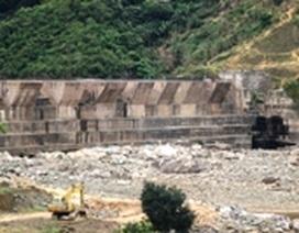 Yêu cầu gia cố ngay chân đập thủy điện Đakrông 3