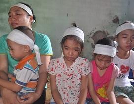 Bố đột tử, 4 con thơ ngơ ngác đi tìm