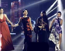 4 diva nhạc Việt lần đầu hội ngộ trong đêm nhạc ở Hà Nội