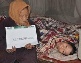 Gần 120 triệu đến với 2 cụ có hoàn cảnh khó khăn ở Nam Định