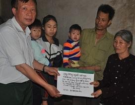 Cộng đồng người Việt tại Ukraine tặng sổ tiết kiệm đến 6 chị em mồ côi