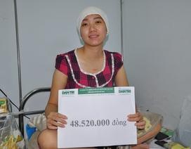 Hơn 48 triệu đồng đến với cựu vô địch đá cầu thế giới Nguyễn Huyền Trang