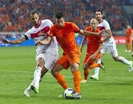 Hà Lan  hạ gục Thổ Nhĩ Kỳ, Đức dễ thắng Đảo Faroe