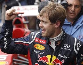 Vettel lần thứ 3 liên tiếp vô địch thế giới trên đường đua F1