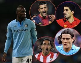 Các ứng viên hàng đầu thế chỗ của Balotelli tại Man City