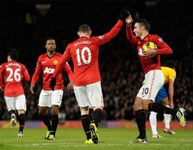 Rooney lập cú đúp, MU ngược dòng hạ Southampton