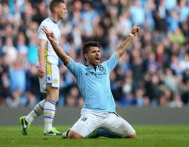 Man City dễ dàng nhấn chìm Leeds