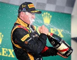 """""""Người tuyết"""" Raikkonen giành chiến thắng tại Austrialia Grand Prix"""