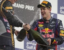 Vettel không có đối thủ trên đường đua Bahrain