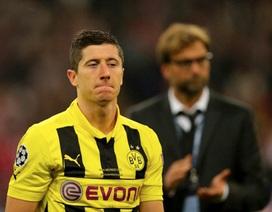 Kẻ chiến bại Dortmund gục ngã trong thế ngẩng cao đầu