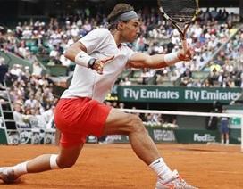 """Nadal """"lê bước"""" qua vòng đầu tiên"""