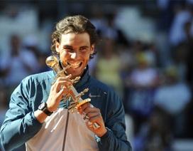 Nadal thiết lập kỷ lục 23 chức vô địch Masters 1000