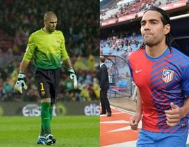 Falcao và Valdes sẽ khoác áo Monaco