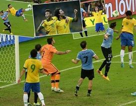 Đánh bại Uruguay, Brazil tiến vào chung kết