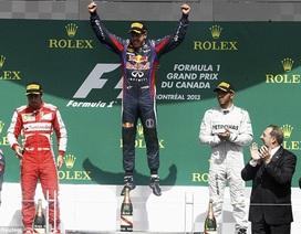 Vettel vô địch Canadian GP