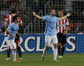 Đánh bại Sunderland, Man City giành cúp vô địch