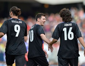 Đội bóng của Messi đại thắng trên đất Mỹ