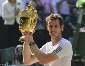 Andy Murray lần đầu tiên vô địch Wimbledon