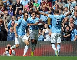 Man City nhọc nhằn thắng tân binh Hull City