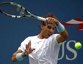Nadal vững bước tiến lên ở Mỹ mở rộng