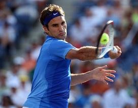 Federer dễ dàng vào vòng 3