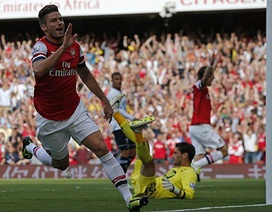 Arsenal gieo sầu cho tham vọng của Tottenham