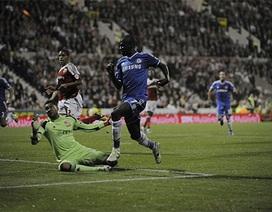 Chelsea nhàn nhã vượt qua chủ nhà Swindon
