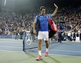"""""""Tàu tốc hành"""" Federer bị chặn đứng tại vòng 4"""