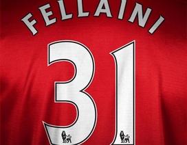 Fellaini mang áo số 31 tại Man Utd