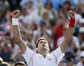 """Vượt """"ải"""" Wawrinka, Djokovic lần thứ 5 vào chung kết"""