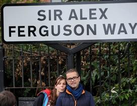 """CĐV MU """"sốt"""" với đường Alex Ferguson"""
