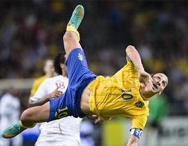 3 siêu phẩm để đời của Zlatan Ibrahimovic