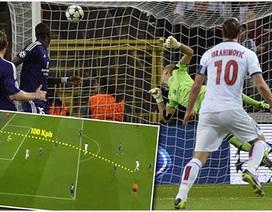 Ibrahimovic lập công bằng cú rocket 100km/giờ