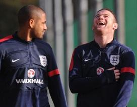 """Rooney và các đồng đội """"luyện công"""" chờ thi đấu với Đức"""