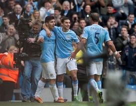 Man City dội mưa bàn thắng vào lưới Tottenham