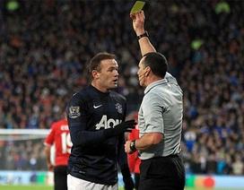 Rooney lại giở trò bỏ bóng đá người