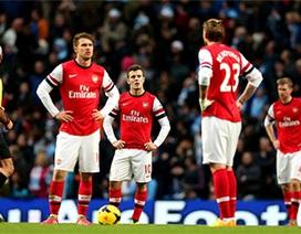 90 phút Arsenal bị vùi dập tại Etihad
