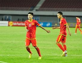"""U23 Việt Nam thắng """"5 sao"""" trước U23 Lào"""