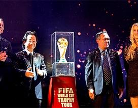 Cúp vàng World Cup đến Việt Nam