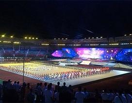 8.000 người tham gia biểu diễn tại lễ khai mạc
