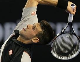 Novak Djokovic tranh vé đi tiếp với Leonardo Mayer