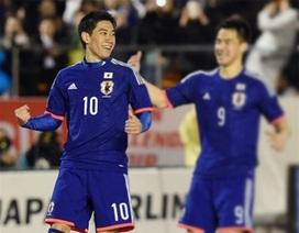 Kagawa lại tỏa sáng trong màu áo tuyển Nhật Bản